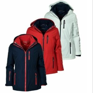 Tommy Hilfiger 3-in-1 All-Weather System Jacket Wo